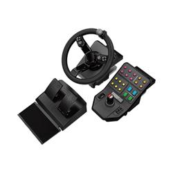 Controller Logitech - Heavy equipment - g-series - bundle - volante e pedali - cablato 945-000062