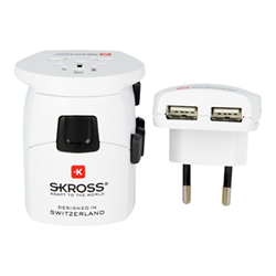 Busta SKROSS - World adapter pro+ usb alimentatore skr1302530