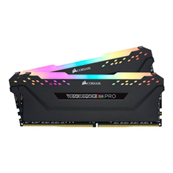 Memoria RAM Vengeance rgb pro ddr4 16 gb: 2 x 8 gb dimm 288 pin cmw16gx4m2c3200c16
