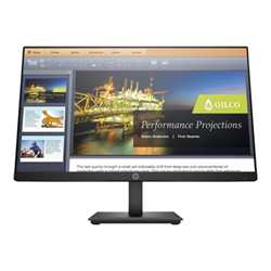 "Monitor LED HP - P224 - monitor a led - full hd (1080p) - 21.5"" 5qg34at#abb"
