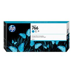 Cartuccia HP - 766 - ciano - originale - designjet - cartuccia d'inchiostro p2v89a