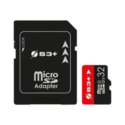 Micro SD S3 PLUS - S3+ - scheda di memoria flash - 32 gb - uhs-i microsdhc s3sdc10u1/32gb