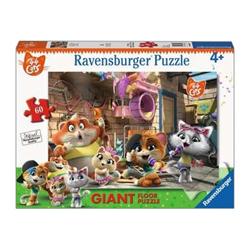 Puzzle Ravensburger - 44 Gatti 03005