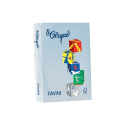 Carta Cartotecnica Favini - Favini le cirque tenui - carta colorata - 250 fogli - a3 - 160 g/m² a74p223