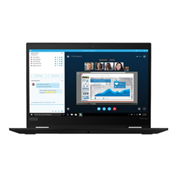"Notebook Lenovo - Thinkpad x390 yoga - 13.3"" - core i7 8565u - 16 gb ram - 512 gb ssd 20nn002mix"