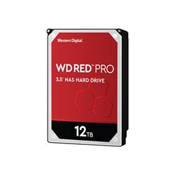 Hard disk interno Western Digital - Wd red pro nas hard drive - hdd - 12 tb - sata 6gb/s wd121kfbx
