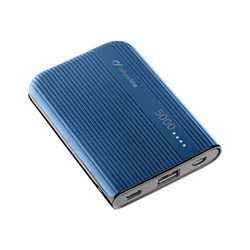 Custodia Cellular Line - CARICABATTERIA EMER. 5000 USB C BLU