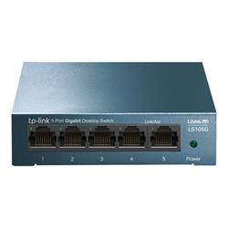 Switch TP-LINK - Litewave - switch - 5 porte - unmanaged ls105g