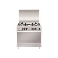 Cucina a gas Glem unica cucina libera installazione acciaio inossidabile un965vi