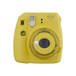 Fotocamera analogica Instax - INSTAX MINI 9 CLEAR YELLOW