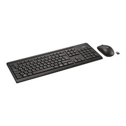Tastiera Fujitsu - Wireless lx410 - set mouse e tastiera - italiano s26381-k410-l485