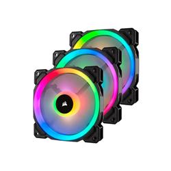 Ventola Ll series ll120 rgb dual light loop ventilatore per cabinet co 9050072 ww