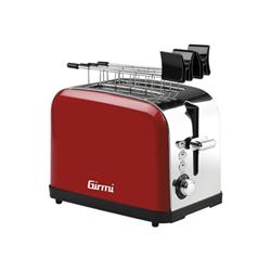 Tostapane Girmi - TP56 920 W Rosso/argento