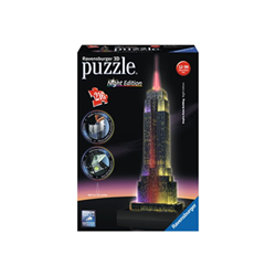 Puzzle Ravensburger - Night edition - Empire State Building 125661