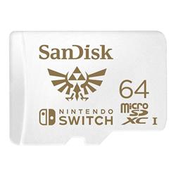 Micro SD Sandisk - Switch - scheda di memoria flash - 64 gb - uhs-i microsdxc sdsqxat-064g-gnczn