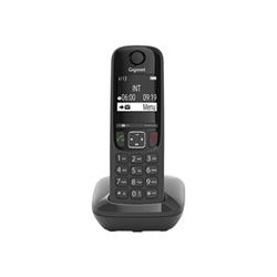 Telefono fisso Gigaset - As690 - telefono cordless con id chiamante s30852h2816k102