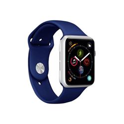 Puro - Cinturino Apple Watch Band 42-44mm Blu scuro