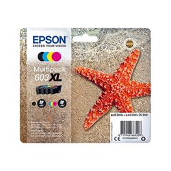 Cartuccia Epson - 603xl multipack - confezione da 4 - xl c13t03a64010