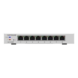 Switch Netgear - Smart managed pro gc108p - switch - 8 porte - intelligente gc108p-100pes