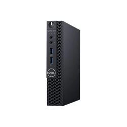 PC Desktop Dell Technologies - Dell optiplex 3070 - micro - core i3 9100t 3.1 ghz - 8 gb - 256 gb v8d66