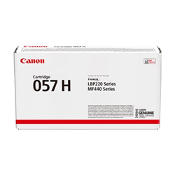 Toner Canon - 057 h - alta capacità - nero - originale - cartuccia toner 3010c002