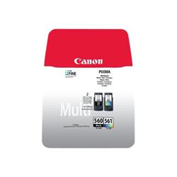 Cartuccia Canon - Pg-560 / cl-561 multipack - confezione da 2 3713c006