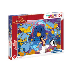 Puzzle Supercolor aladino disney 27283