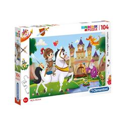 Puzzle Clementoni - Supercolor - the magic kingdom 27113
