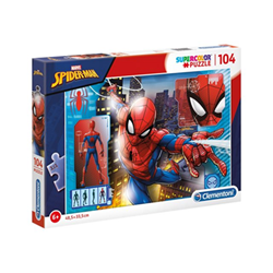 Puzzle Clementoni - Supercolor - spider man - marvel 27118