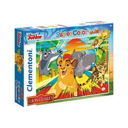 Puzzle Clementoni - Supercolor maxi - disney lion guard 24056