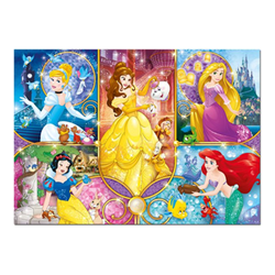 Puzzle Supercolor disney princess brilliant puzzle 20140