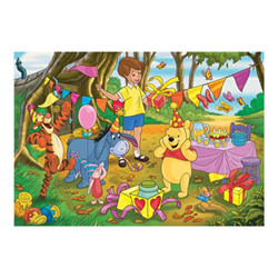 Puzzle Clementoni - Supercolor maxi - winnie the pooh disney 24201