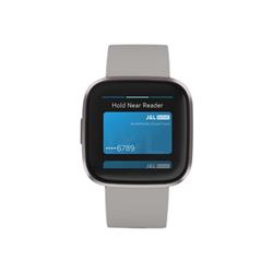 Smartwatch Fitbit - Versa 2 Grigio Nebbia Taglia Unica (S e L Inclusi)