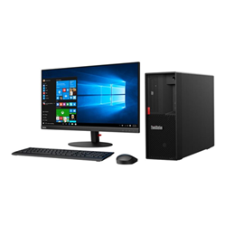 Workstation Lenovo - Thinkstation p330 (2nd gen) - tower - xeon e-2244g 3.8 ghz - 16 gb 30cy002bix