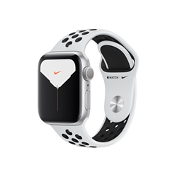 Smartwatch Apple - Watch nike series 5 (gps + cellular) - alluminio argento mx3e2ty/a
