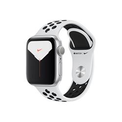 Smartwatch Apple - Watch Series 5 GPS+Cellular 44mm alluminio argento con cinturino Nike Sport