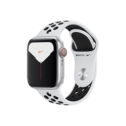 Smartwatch Apple - Watch nike series 5 (gps + cellular) - alluminio argento mx3c2ty/a