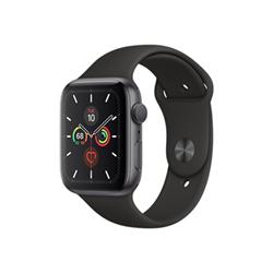 Smartwatch Apple - Watch Series 5 GPS 44mm Alluminio Griglio Siderale con cinturino Sport Nero