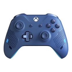 Controller Xbox wireless controller sport blue special edition game pad wl3 00146