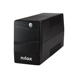 Gruppo di continuità Nilox - Premium line interactive - ups - 840 watt - 1200 va nxgcli12001x7v2