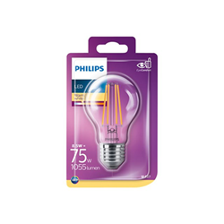 Lampadina LED Philips - Lampadina con filamento led - forma: a60 929002025401