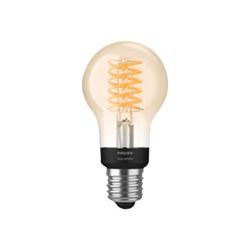Lampadina LED Philips - Hue White Filament A60, Lampadina LED Smart, Bluetooth, attaccoE27