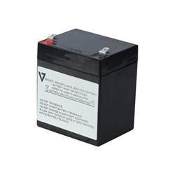 Batteria V7 - Batteria ups - piombo - 5 ah rbc1dt750v7