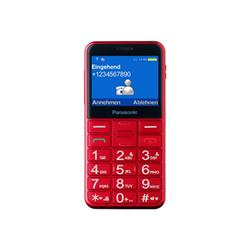 Telefono cellulare Panasonic - Kx-tu150 - rosso - gsm - cellulare kx-tu150exrn