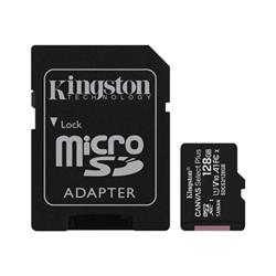 Micro SD Kingston - Canvas select plus - scheda di memoria flash - 128 gb sdcs2/128gb