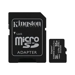 Micro SD Kingston - Canvas select plus - scheda di memoria flash - 32 gb sdcs2/32gb-3p1a