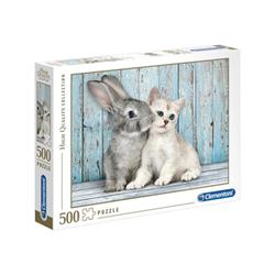 Puzzle Clementoni - Gatto e Coniglio 35004