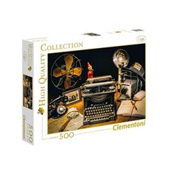 clementoni puzzle high quality collection - la macchina da scrivere 35040a