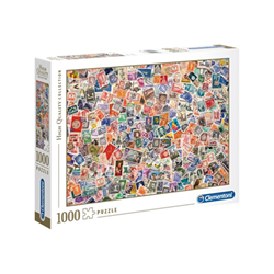 Puzzle Clementoni - High quality collection - stamps 39387