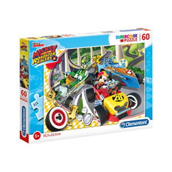 Puzzle Clementoni - Supercolor disney junior mickey and the roadster racers 26976b